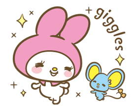 My Melody: Sweet as Can Be! sticker #9805301