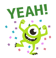 Animated Monsters, Inc. sticker #9913423