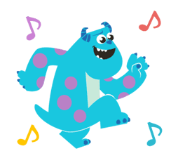 Animated Monsters, Inc. sticker #9913430
