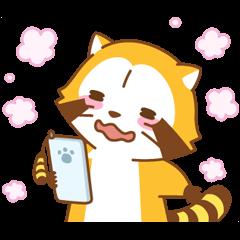 ラブラブ∞ラスカル アニメスタンプ | StampDB - LINEスタンプランキング