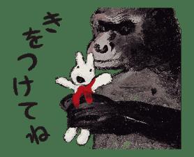 Animated Gaspard et Lisa sticker #9947704