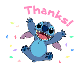 Animated Stitch (Rowdy) sticker #10116817