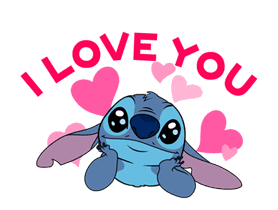 Animated Stitch (Rowdy) sticker #10116818