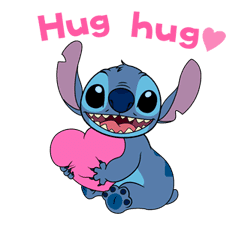 Animated Stitch (Rowdy) sticker #10116823