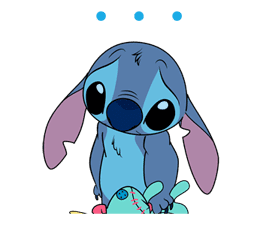 Animated Stitch (Rowdy) sticker #10116836