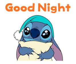 Animated Stitch (Rowdy) sticker #10116839