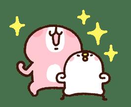 Kanahei's Piske & Usagi Come to Life! sticker #10346251