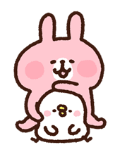 Kanahei's Piske & Usagi Come to Life! sticker #10346252