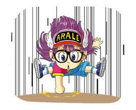 Dr.Slump -Arale- Animated Stickers sticker #10346354
