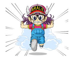 Dr.Slump -Arale- Animated Stickers sticker #10346358