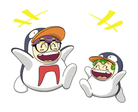 Dr.Slump -Arale- Animated Stickers sticker #10346359