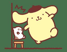 Animated Pompompurin sticker #10551353