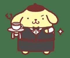 Animated Pompompurin sticker #10551354