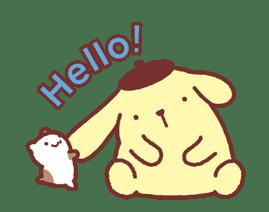 Animated Pompompurin sticker #10551355