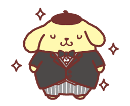 Animated Pompompurin sticker #10551358
