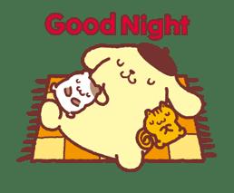 Animated Pompompurin sticker #10551359