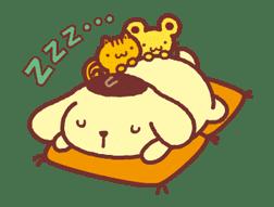 Animated Pompompurin sticker #10551362