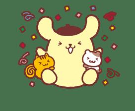 Animated Pompompurin sticker #10551367