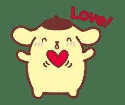 Animated Pompompurin sticker #10551369