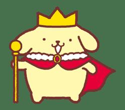 Animated Pompompurin sticker #10551374
