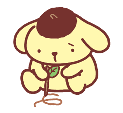 Animated Pompompurin sticker #10551375