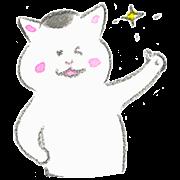 สติ๊กเกอร์ไลน์ Kyou no Nekomura-san 2