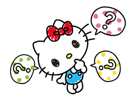 Hello Kitty's Quick Replies! sticker #10866629