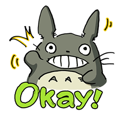 My Neighbor Totoro sticker #10867512