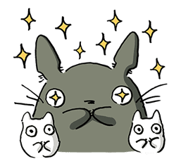 My Neighbor Totoro sticker #10867516