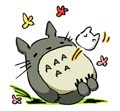 My Neighbor Totoro sticker #10867519