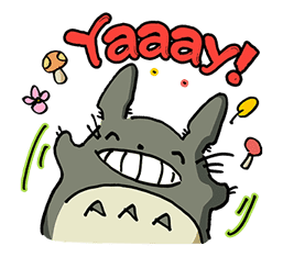 My Neighbor Totoro sticker #10867521