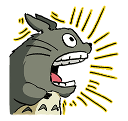 My Neighbor Totoro sticker #10867532