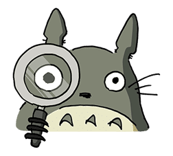 My Neighbor Totoro sticker #10867541