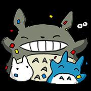 สติ๊กเกอร์ไลน์ My Neighbor Totoro