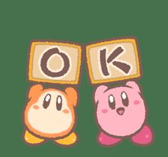 Kirby's Puffball Sticker Set sticker #11088066