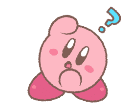 Kirby's Puffball Sticker Set sticker #11088072