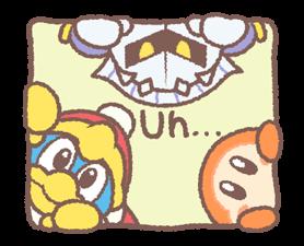 Kirby's Puffball Sticker Set by Nintendo sticker #11088073