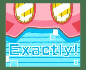 Kirby's Puffball Sticker Set sticker #11088075