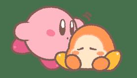 Kirby's Puffball Sticker Set sticker #11088078