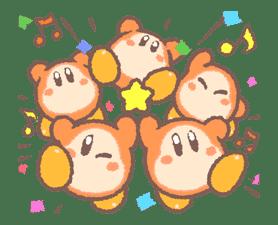 Kirby's Puffball Sticker Set sticker #11088080