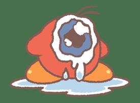Kirby's Puffball Sticker Set sticker #11088086