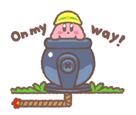 Kirby's Puffball Sticker Set sticker #11088087