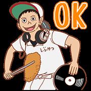 สติ๊กเกอร์ไลน์ TONKATSU DJ AGETARO