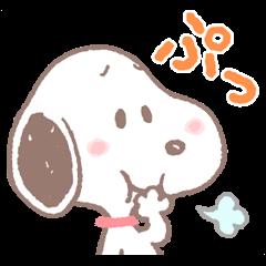 ゆるカワ♪スヌーピー | StampDB - LINEスタンプランキング