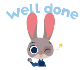 Zootopia: Animated Stickers sticker #11146461