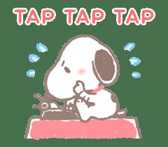 Lovely Snoopy sticker #11307538