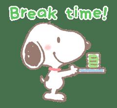 Lovely Snoopy sticker #11307539