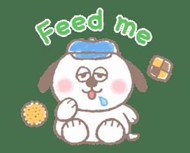 Lovely Snoopy sticker #11307546
