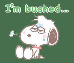 Lovely Snoopy sticker #11307553