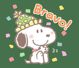 Lovely Snoopy sticker #11307557